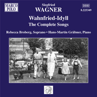 CD S Wagner Songs 10110