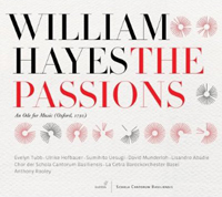 Recordings Passions CD Cover 12110