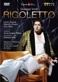 Video Rigoletto 2 DvD Cover 12110