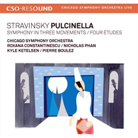 Pulcinella CD Cover