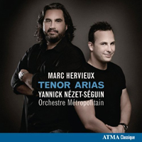 REcordings Marc Hervieux CD COver 7110