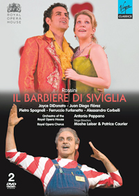 Video Barber of Seville DVD Cover 7110