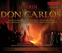 Recordings Don Carlos CD COVER 7110