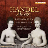 Recordings Handel Duets CD COVER 7110