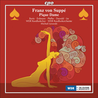 Recordings Pique Dame CD Cover 7110