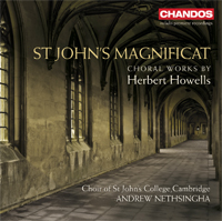 Recordings Howells CD Cover 7110