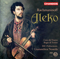 Recordings Aleko CD Cover 8110