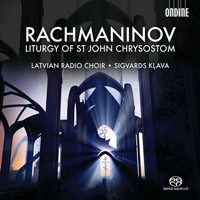 Recordings Rachmaninoff CD Cover 8110