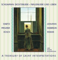 Recordings Schumann Cover 8110