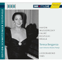 Recordings Berganza CD Cover 9110