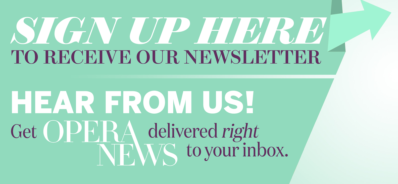Newsletter Sign up 416`
