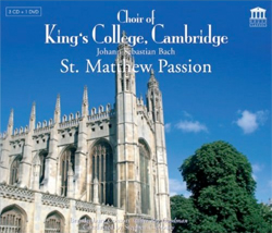 Recordings Matthew Passion Cover 511