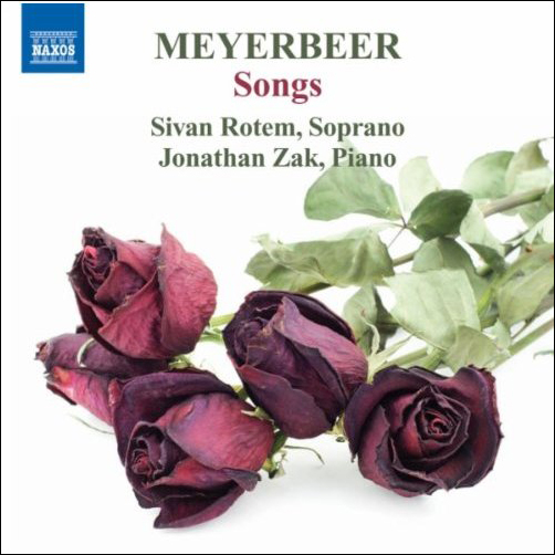 Recordings Meyerbeer Songs Cover 611