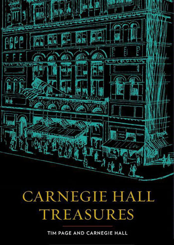 Books Carnegie Hall Treasures Cover 1111