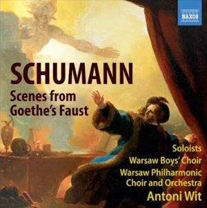 Recordings Schumann Goethe's Faust cover 811