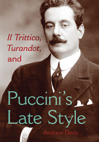 Books Puccini's Late Style lg 711