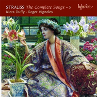 Recordings Strauss Songs Cover 412