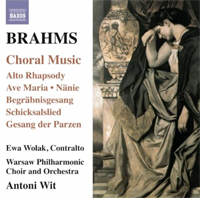 Recordings Brahms Choral cover 712