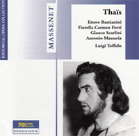 Recordings Historic Thaïs Cover 812