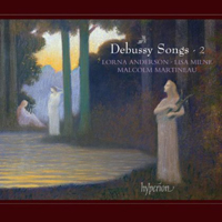 Recordings Debussy Songs Cover 113