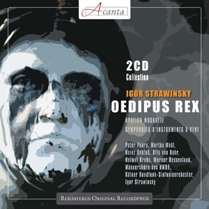 Recordings Oedipus Rex Cover 1113