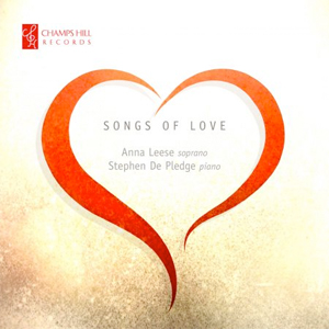 Recordings Songs of Love Cover 1213