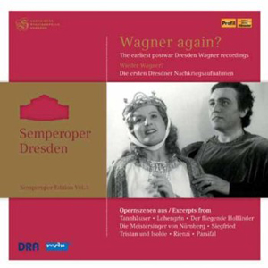 Recordings Wagner Again Cover 313