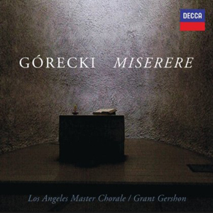 Recordings Gorecki Miserere cover 313
