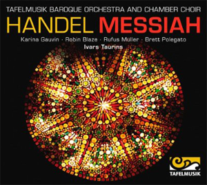 REcordings Tafelmusik Messiah cover 413