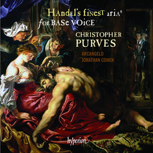 Recordings Purves Handel Arias cover 513