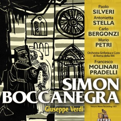Recordings Simon Boccanegra Pradelli cover 713