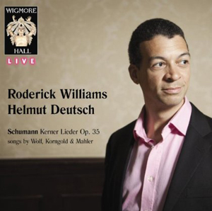 Recordings Roderick Williams Cover 813