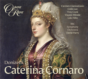 Recordings Caterina Cornaro Cover 114