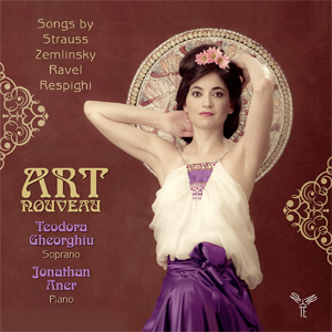 Recordings Gheorghiu Art Nouveau Cover 114