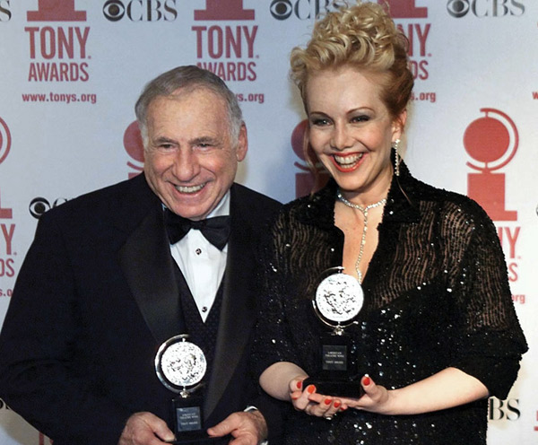Image result for mel brooks awards