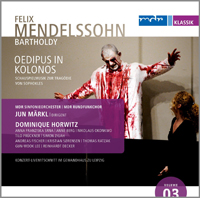 Recordings Mendlssohn Oedipus Cover 214