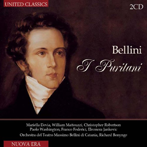 Recordings Puritani Historical CD Cover 614