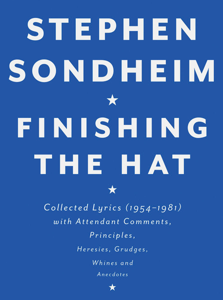 Sound Bites Sondheim Book 714
