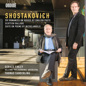 Recordings Shostakovich Finley cover 814
