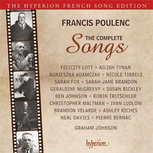 Recordings Poulenc Songs Cover 1115