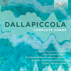 Recordings Dallapiccola Cover 1215