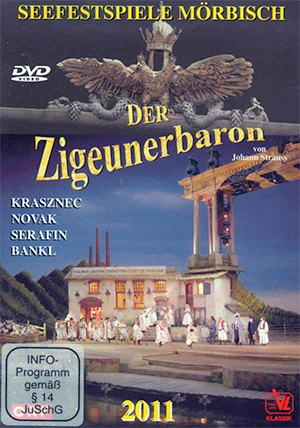Recordings Zigeunerbaron DVD COver 1215