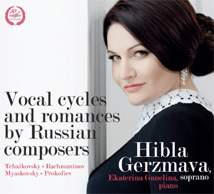 Recordings Hibla Gerzmava Russian Composers Cover 315