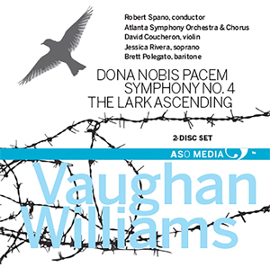 Recordings Dona Nobis Pacem Vaughan Williams Cover 515