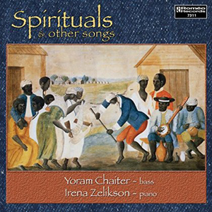 Recordings Spirituals Chaiter cover 615