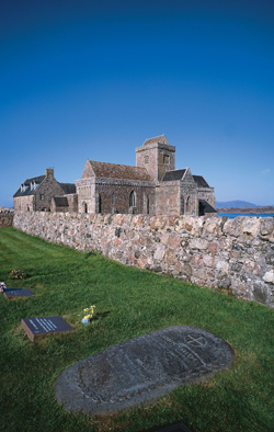 Listening to the Hebrides Iona Abbey sm 615