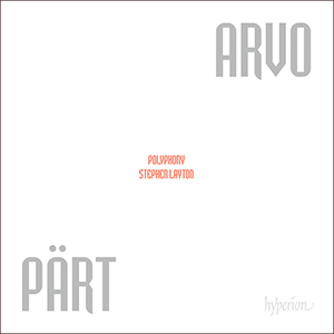 Recordings Polyphony Arvo Part Cover 715