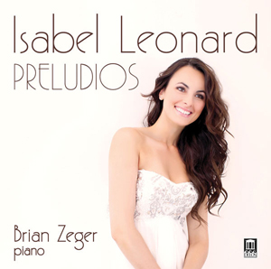 Recordings Isabel Leonard Preludios Cover 815