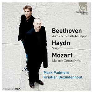 Recordings Padmore Bezuidenhout Beethoven Cover 815