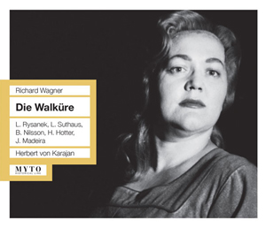 Recordings Die Walkure Karajan Rysanek Cover 815